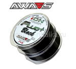 Леска AWA-S ION POWER FLUO+ BLACK  2 2х300м 0,309мм 12,35кг чёрный